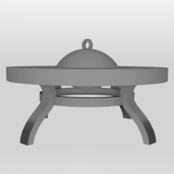 Download free STL files Fire Pit - Possible 28mm Gaming Prop, rebeltaz