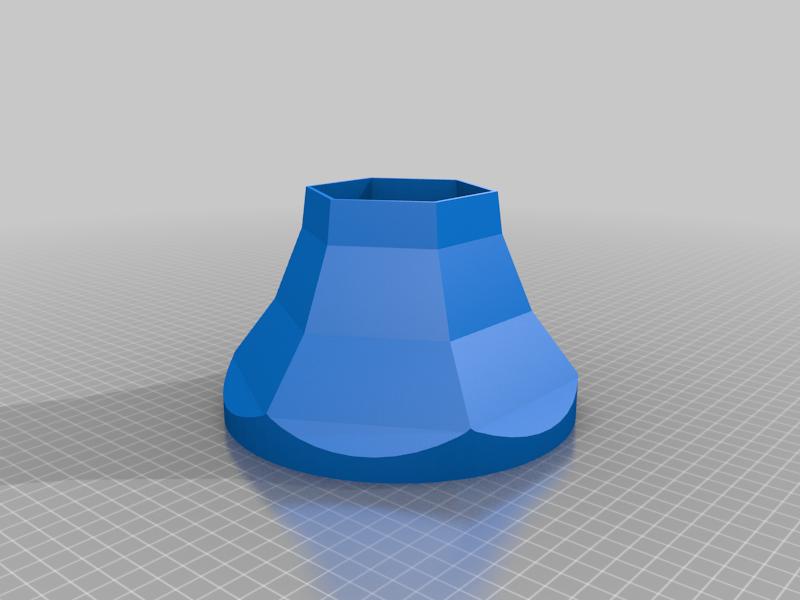 LegLamp_Shade.png Download free STL file A Christmas Story Leg Lamp - Biggerized • 3D printable model, rebeltaz