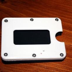 Download free 3D model Front Pocket / Thin / Slim / Minimalist Wallet, rebeltaz