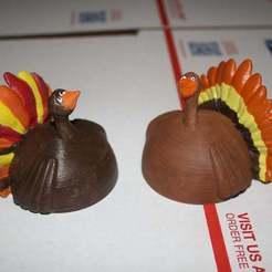 IMG_1871.JPG Download free STL file Gnome Thanksgiving Hat • 3D printing template, rebeltaz
