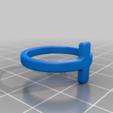 Download free 3D printing models Simple Cross Ring, rebeltaz