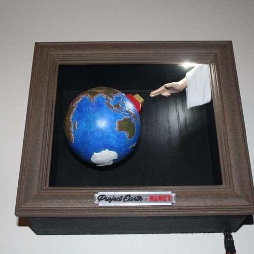 IMG_1831.JPG Download free STL file Project Earth - Reset • 3D printable model, rebeltaz