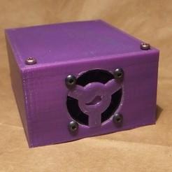 Download free 3D printer designs cbd-3d MOSFET enclosure, rebeltaz