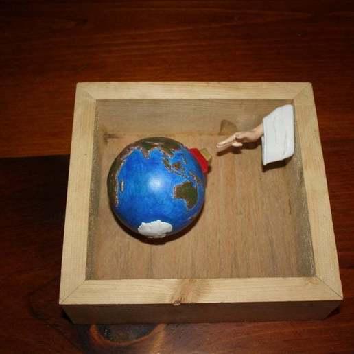 IMG_1765.JPG Download free STL file Project Earth - Reset • 3D printable model, rebeltaz