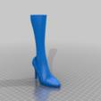 LegLamp_Leg-lower.png Download free STL file A Christmas Story Leg Lamp - Biggerized • 3D printable model, rebeltaz