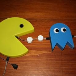 Télécharger fichier imprimante 3D gratuit PacMan and Ghosts Veilleuse, rebeltaz