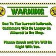 Download free STL file Plague Plaque - a COVID-19 Quarantine Sign • Design to 3D print, rebeltaz