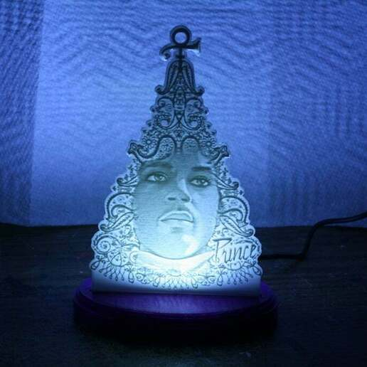 IMG_1945.JPG Download free STL file PrinceMas Ornament with Lighted Base • 3D print template, rebeltaz