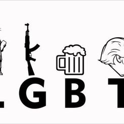 Free 3D printer files In Support of LGBT Pride Month, rebeltaz
