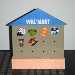 Free 3D printer model Wal*Mart Associate Appreciation Pin Display, rebeltaz