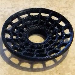 Modelos 3D gratis Escudo del anillo del pezón de tela de araña, rebeltaz