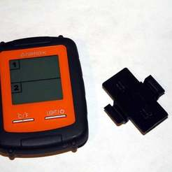 Download free 3D printer model Amarox Wireless BBQ Meat Thermometer Battery Cover, rebeltaz
