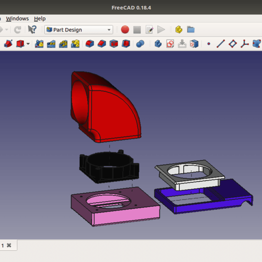 Download Free 3d Printer Designs Airbrush Spray Booth Air Filter Cults