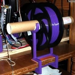 Télécharger fichier imprimante 3D gratuit YAFSH - Encore un autre porte-bobine à filament, rebeltaz