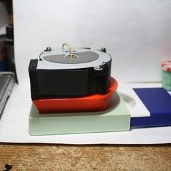 Download free 3D printer designs Airbrush Spray Booth Air Filter, rebeltaz