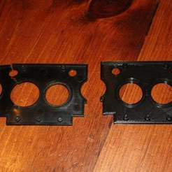 IMG_1874.JPG Download free STL file Paper Shredder Plate for Aurora AS1015CD - Fringe Case # 8765309 • 3D printing design, rebeltaz