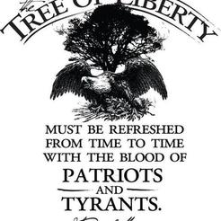 Free STL The Tree of Liberty, rebeltaz