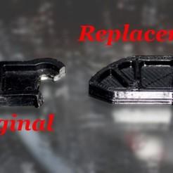 Download free 3D model Fringe Case #3672 - Poulan Chainsaw Throttle Lever, rebeltaz