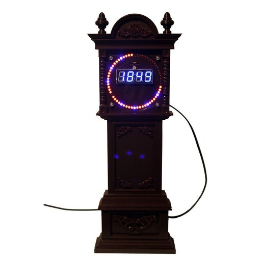 Download free 3D model Grandfather Clock Case for EC1515B and DS1302 Rotating Clock Kits, rebeltaz