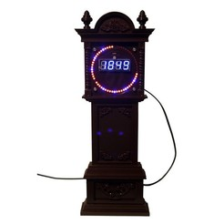 Télécharger fichier 3D gratuit Boîtier d'horloge grand-père pour EC151515B et DS1302 Kits d'horloge tournante, rebeltaz