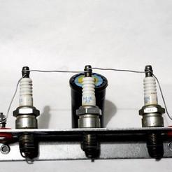 Télécharger objet 3D gratuit Traversée électriquement isolée pour parafoudre, rebeltaz