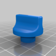 "old_knob.png Download free STL file Old Radio Knob with 1/4"" D Shaft • Model to 3D print, rebeltaz"