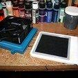 Download free STL Airbrush Spray Booth Air Filter version 2, rebeltaz