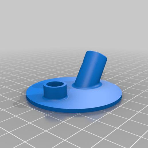 lid.png Download free STL file Airbrush Cleaner Set For Yeast Jar • 3D printable design, rebeltaz