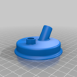 one_piece.png Download free STL file Airbrush Cleaner Set For Yeast Jar • 3D printable design, rebeltaz