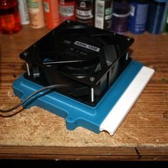 Descargar modelo 3D gratis Cabina de pulverización de aerógrafo Filtro de aire versión 2, rebeltaz