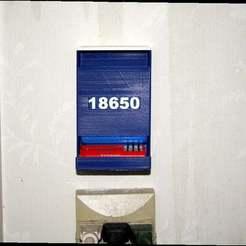 Download free 3D printing templates 18650 FIFO Battery Dispenser, rebeltaz