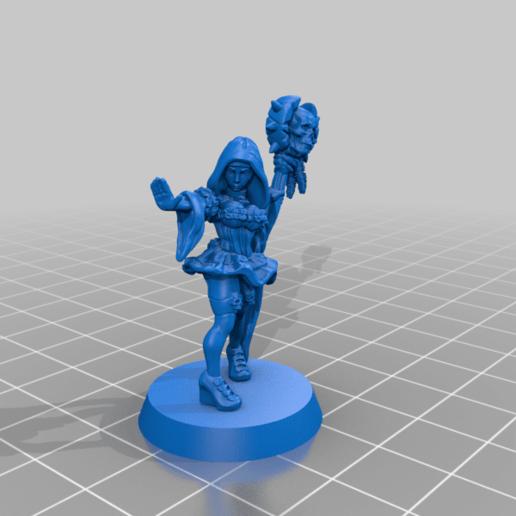 Summoner_NewBase.png Download free STL file the Summoner - 28mm • 3D print model, rebeltaz