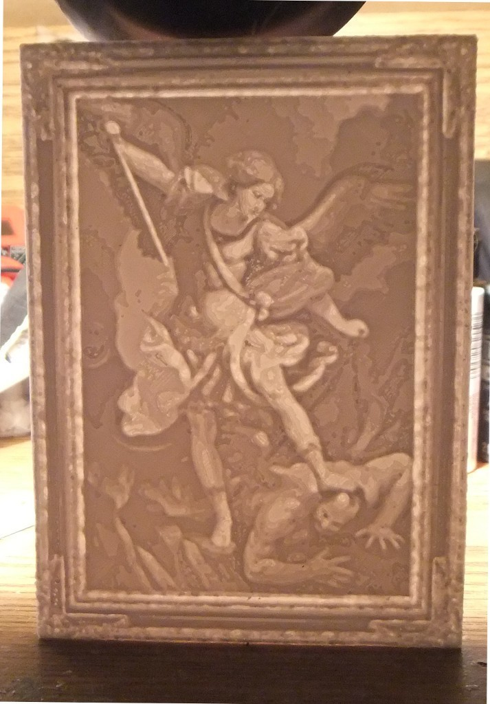 fed5a3aa8293065150cbef0f64bf60b7_display_large.jpg Download free STL file Saint Michael the Archangel Lithophane • 3D printable design, rebeltaz