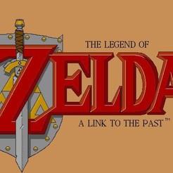 98efeabf49ec28c35f2fefc6efdb4b32_display_large.jpg Download free STL file Legend of Zelda - A Link to the Past Plaque • 3D printable design, rebeltaz