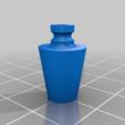 Download free 3D printer designs Fringe Case #3 - Yamaha YG450D Generator Choke Bushing, rebeltaz