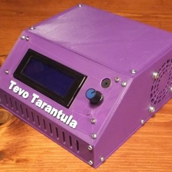 Free 3D printer files Tevo Tarantula Control Box, rebeltaz