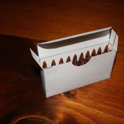 IMG_1767.JPG Download free STL file 5.56 / .223 Ammo Storage Box (20 rds) • 3D printable object, rebeltaz