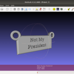 Screenshot_from_2020-11-09_19-07-17.png Download free STL file Not My President • Design to 3D print, rebeltaz