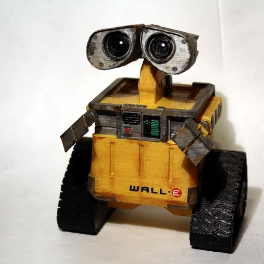 Download free 3D printing models Wall-E Figure, rebeltaz