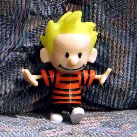 Descargar STL gratis Calvin, rebeltaz