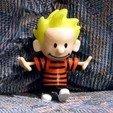 Download free STL files Calvin, rebeltaz