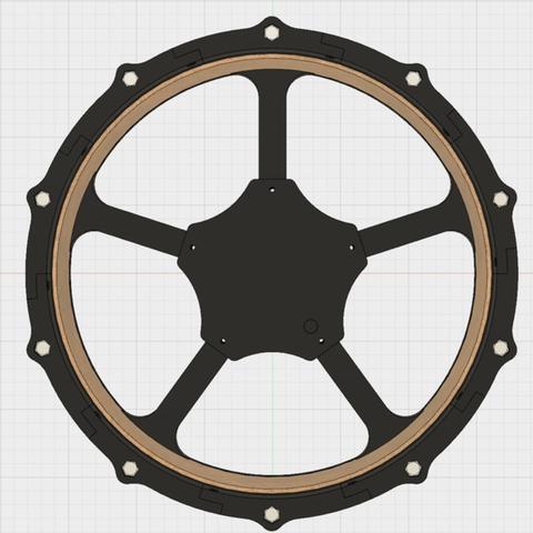 Capture d'écran 2017-08-21 à 10.57.04.png Download free STL file 12 inch e-drum pad with small 3d printer • 3D print model, RyoKosaka