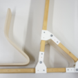 Free STL files Joints for Bending Plywood, RyoKosaka