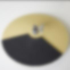 cableGuide.stl Télécharger fichier STL gratuit Chapeau 12 pouces Hi-Hat • Design pour impression 3D, RyoKosaka