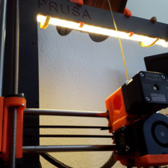 Download free 3D printing designs LED Holder (PRUSA I3 MK2), Turbostar