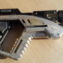 Free 3d printer model M3 Predator Mass Effect, Turbostar