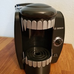 Download 3D printer files Alien coffee machine, Turbostar