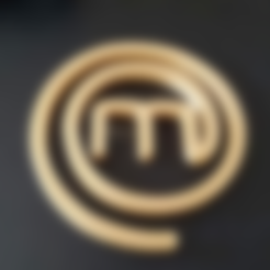 Free stl files Masterchef Logo, Turbostar