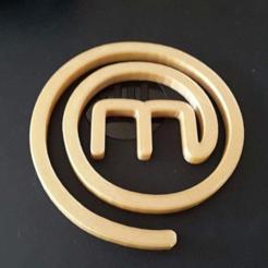 Descargar Modelos 3D para imprimir gratis Logotipo de Masterchef, Turbostar