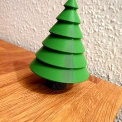 20191128_194338.jpg Télécharger fichier STL Sapin de Noël pour les cadeaux et décorations d'argent • Design à imprimer en 3D, Turbostar
